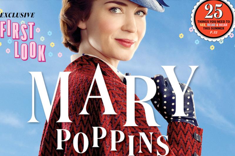 『メリー・ポピンズ』続編『Mary Poppins Returns』公式写真一挙公開