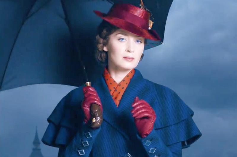 『メリー・ポピンズ』続編『Mary Poppins Returns』より動くポスターが初公開