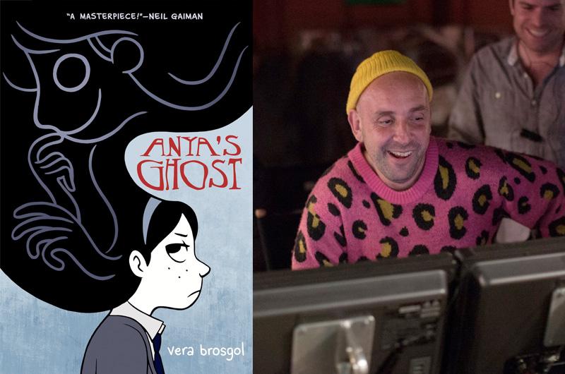 女子高生と女の子の幽霊が仲良くなって…グラフィックノベル原作『Anya's Ghost』映画化、監督決定