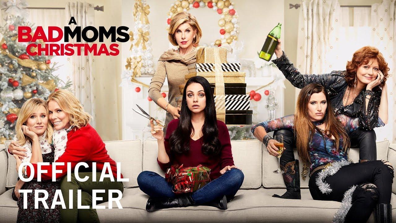 『バッド・ママ』続編『A Bad Moms Christmas』予告編