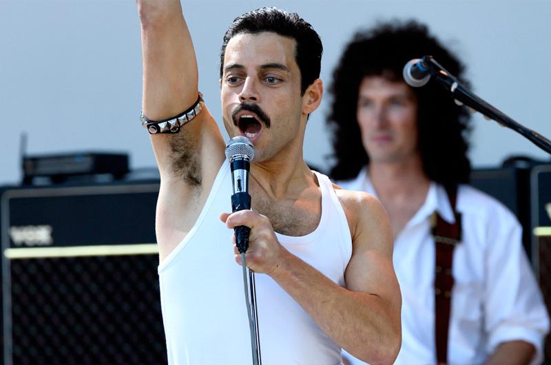 """フレディ・マーキュリー伝記映画『Bohemian Rhapsody』""""あの""""ライブシーン撮影風景写真"""