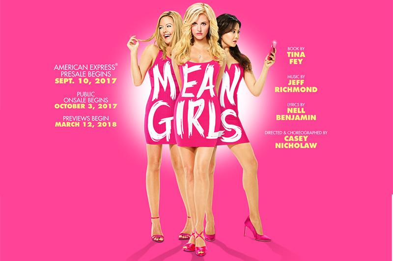 ミュージカル版『ミーン・ガールズ』2018年4月からブロードウェイ公演開始。告知映像公開