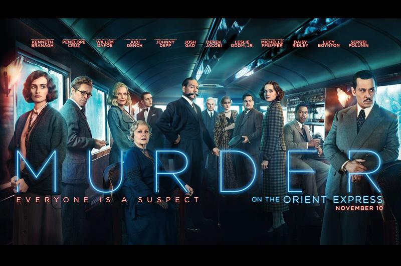 『オリエント急行殺人事件』の新たなビジュアルとポスターが公開