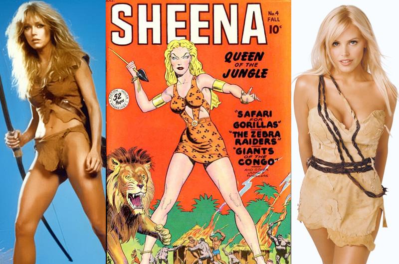 女性版ターザン『シーナ クイーン・オブ・ザ・ジャングル』映画化に向けて企画開発スタート
