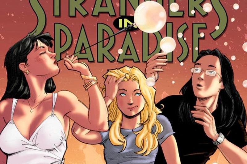 レズビアンを含む3人の男女の三角関係を描くコミックシリーズ『Strangers in Paradise』映画化