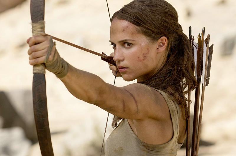 アリシア・ヴィキャンデル主演『トゥームレイダー』の新たなスチール公開