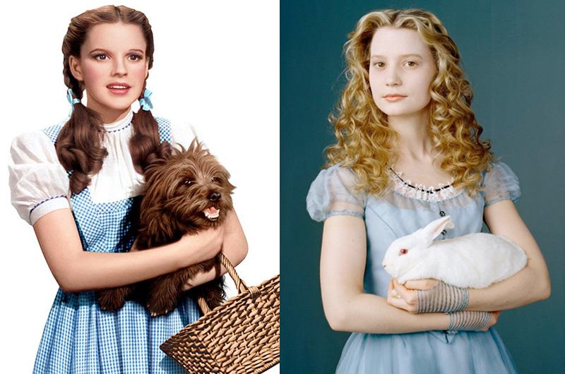 「オズの魔法使」のドロシーと「ふしぎの国のアリス」のアリスが共演する企画『Dorothy & Alice』