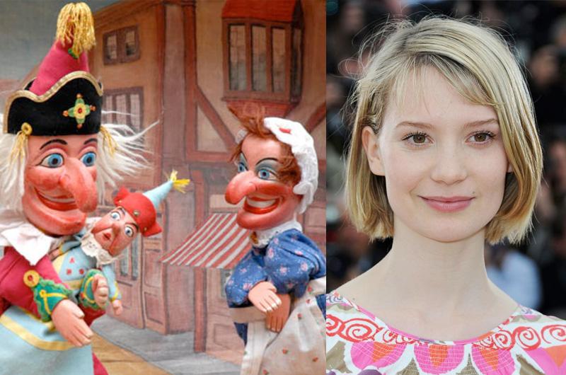 ミア・ワシコウスカ主演、古典人形劇「パンチとジュディ」の実写化『Judy and Punch』