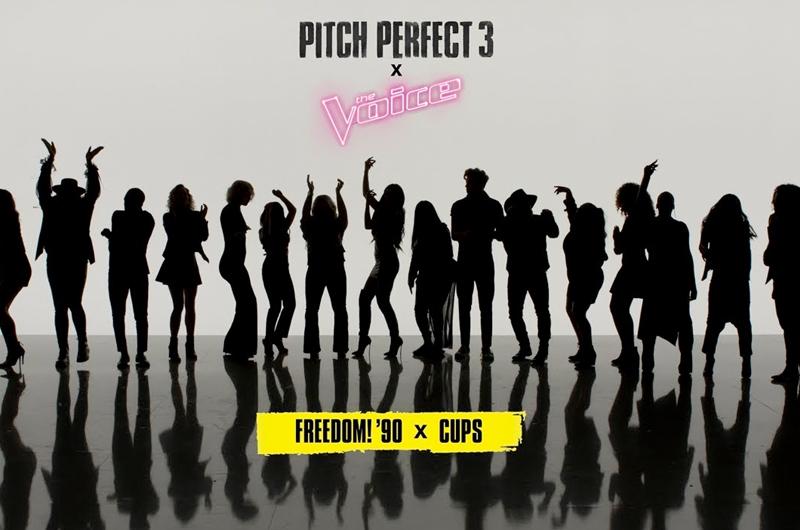 『ピッチ・パーフェクト3』のベラーズが「ザ・ヴォイス」の出演者とコラボしたMV「Freedom! '90 x Cups」
