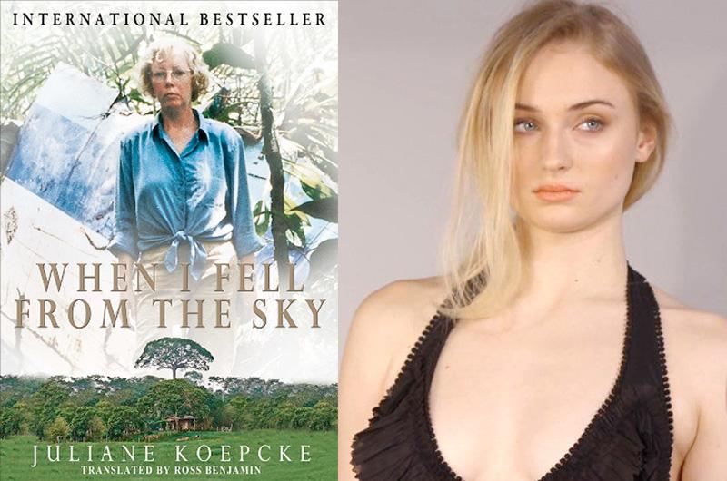 ソフィー・ターナー、ジャングルを1人で生き抜いた少女を描く『Girl Who Fell From The Sky』で主演