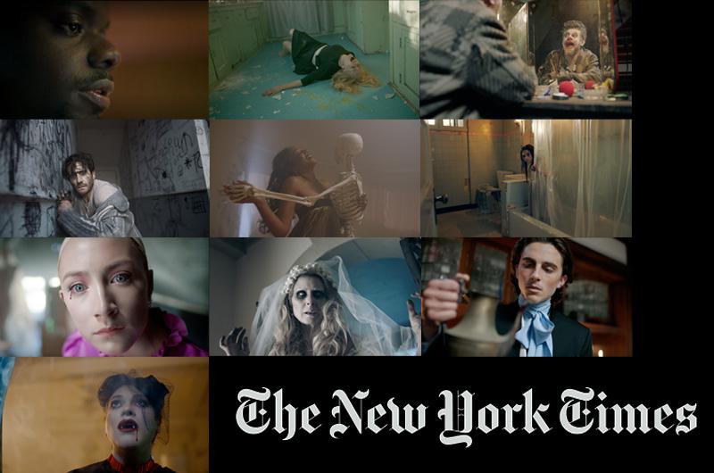 ニューヨーク・タイムズ恒例、旬の俳優陣が出演する短編集、2017年のテーマは「ホラー」