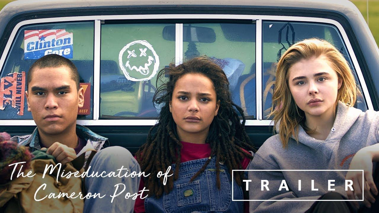 クロエ・グレース・モレッツ主演、レズビアン青春映画『The Miseducation of Cameron Post』予告編