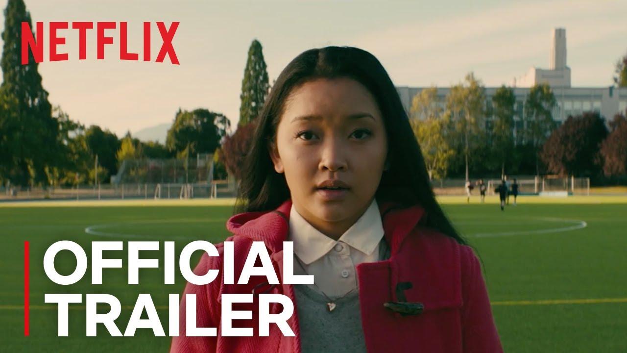 アジア系ヒロインの学園キューティー映画『好きだった君へのラブレター』予告編