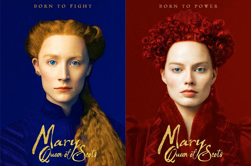 スコットランド女王、メアリー・ステュアートを描く『Mary, Queen of Scots』ポスター公開