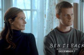 ジュリア・ロバーツが息子の問題を24時間で解決しようと奮闘する『Ben Is Back』特報