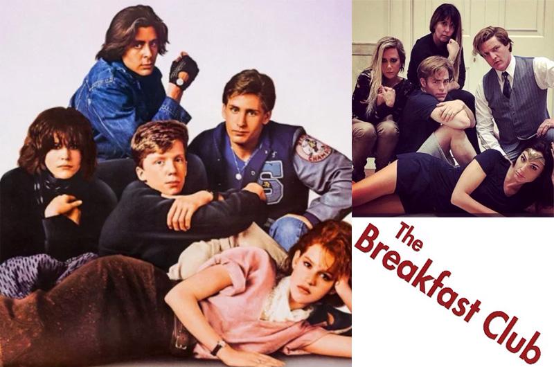 『ワンダーウーマン 1984』キャストによる『ブレックファスト・クラブ』パロディ
