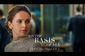 現在最高齢の米最高裁判事ルース・ギンズバーグをフェリシティ・ジョーンズが演じる『On the Basis of Sex』予告編第2弾