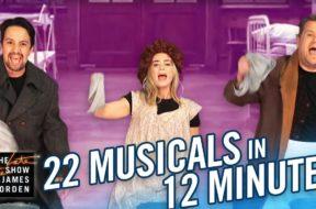 エミリー・ブラントとリン=マニュエル・ミランダが有名ミュージカル映画たちを再現