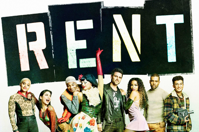 米FOXで2019年1月に生放送される『RENT:Live』特報&ポスター