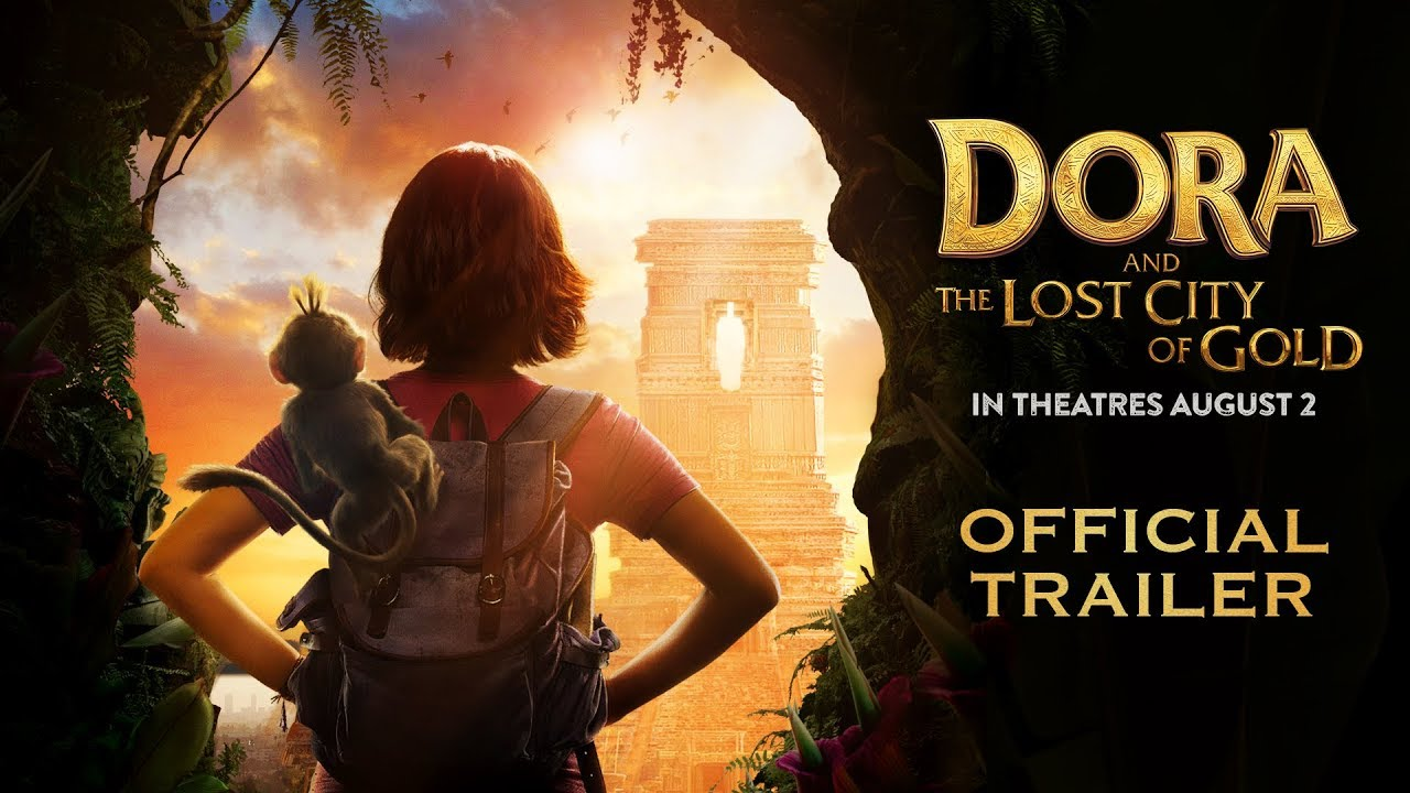 『ドーラといっしょに大冒険』実写版『Dora and the Lost City of Gold』予告編