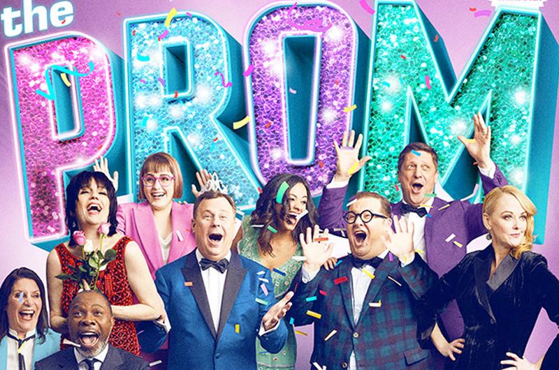 レズビアンカップルの青春と騒動を描くミュージカル「The Prom」がNetflix映画に