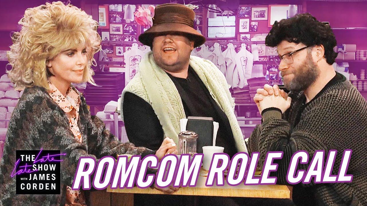 シャーリーズ・セロンとセス・ローゲン、キューティー映画の名シーンを再現