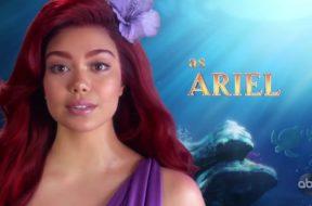 アウリイ・クラヴァーリョ主演、米ABC生放送『The Little Mermaid Live!』キャスト映像