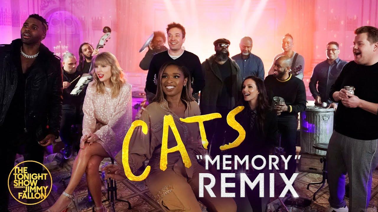 「キャッツ』出演者による、「メモリー」パフォーマンス(おまけ:ハリー・スタイルのパフォーマンス)
