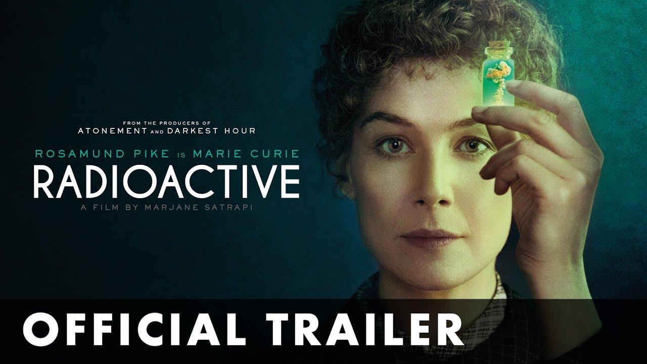 ロザムンド・パイクがキュリー夫人を演じる『Radioactive』予告編