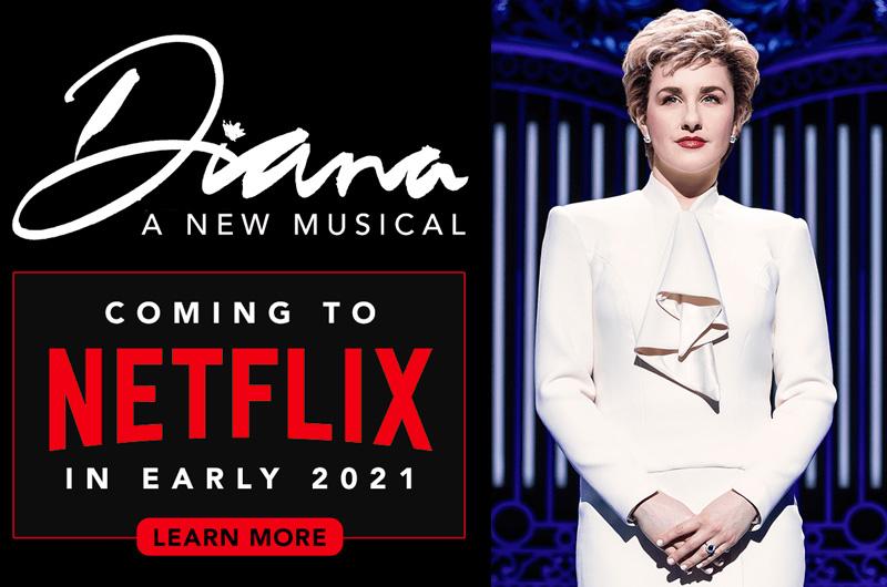 Netflixがダイアナ妃を描く舞台ミュージカル「Diana:A New Musical」を2021年に配信