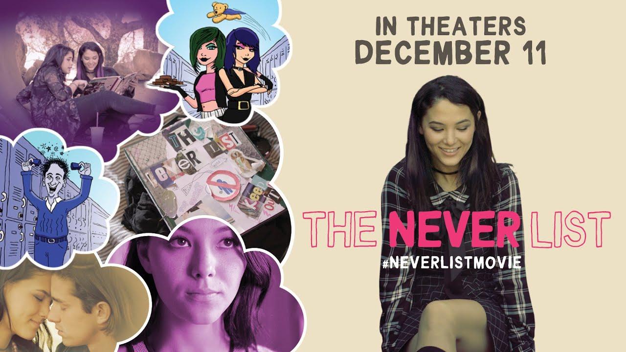 亡き親友と作った「絶対できないリスト」を実行する女子高生を描く青春映画『The Never List』予告編