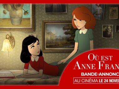 日記の中の少女が現代でアンネ・フランクを探す『Where Is Anne Frank』予告編