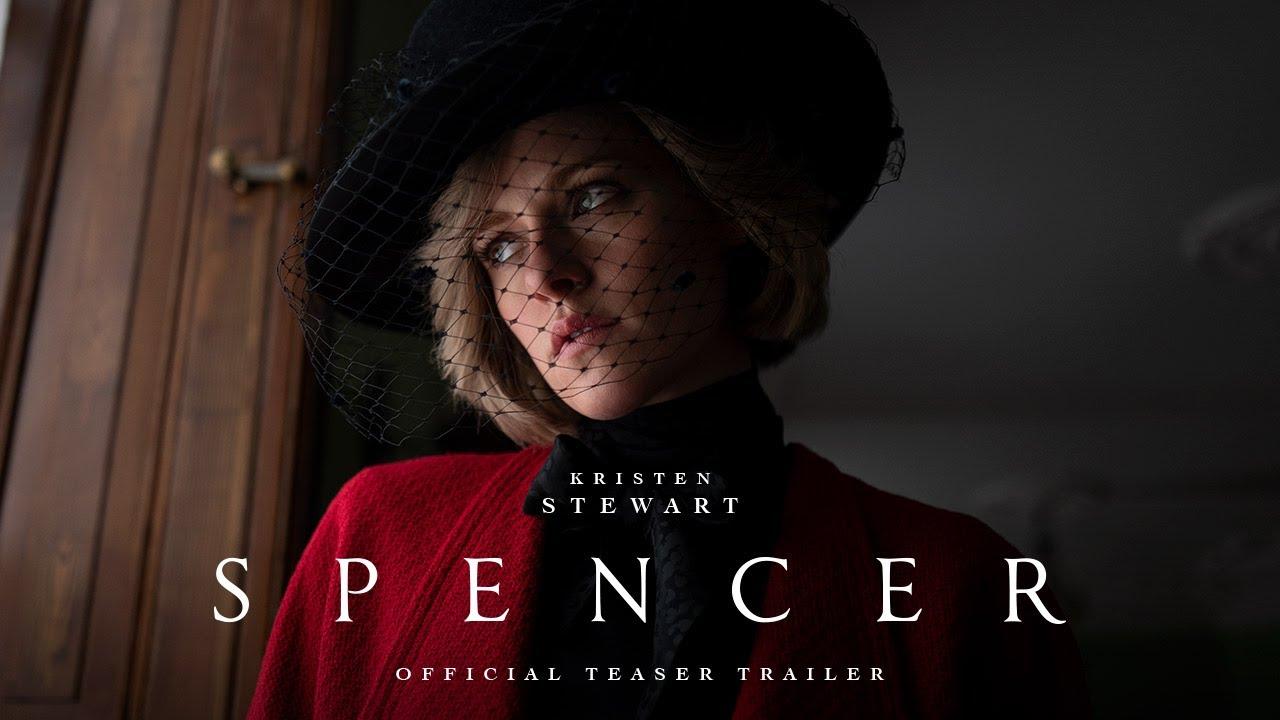 クリステン・スチュワートがダイアナ妃を演じる『Spencer』特報&ポスター